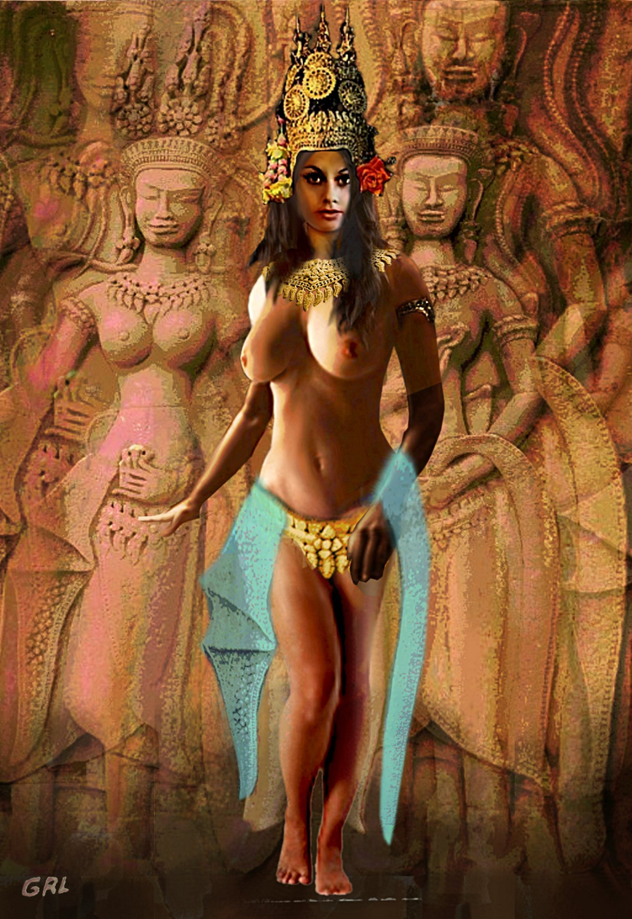 G. Ross Linsenmayer Artwork: ORIGINAL DIGITAL ART FEMALE ...