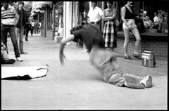 Gregory Stringfield Artwork Break Dancer, 1985 Silver Gelatin Photograph, Urban