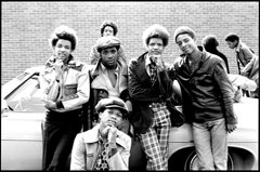 Gregory Stringfield Artwork Gang, 1975 Silver Gelatin Photograph, Urban