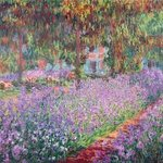 the arrists garden at giverny By Andrew Giffen