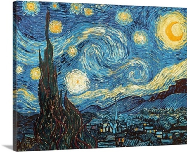 Andrew Giffen Artwork The Starry Night