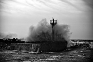 Thomas Gulla: 'Storm', 2008 Black and White Photograph, Landscape. Limited Edition Signed and Numbered of 10 Prints. ...
