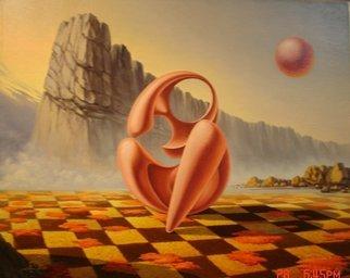 Artist: Gyuri Lohmuller - Title: she - Medium: Oil Painting - Year: 2005