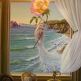 Gyuri Lohmuller Artwork when the memory returns, 2007 Oil Painting, Surrealism