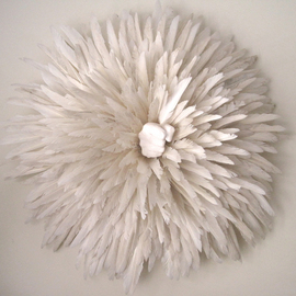 Hailey Lowe: 'Order of the White Feather', 2009 Other Sculpture, Culture.