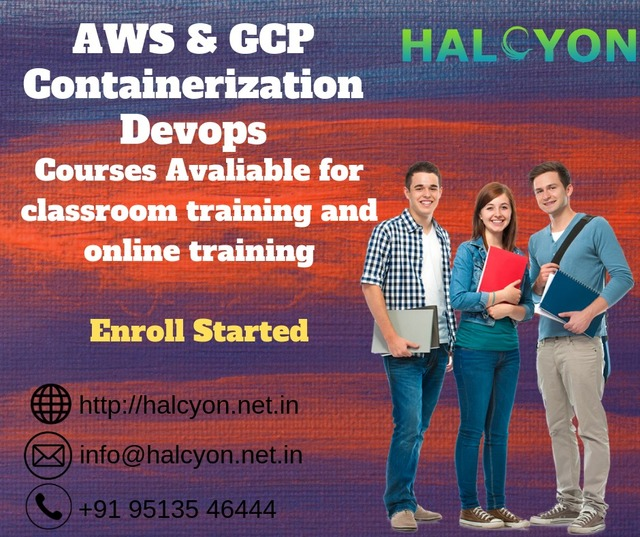 Halcyon Tech  'Aws Training In Chennai', created in 2019, Original Book.