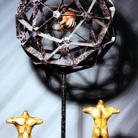 Paul Fucci Artwork Morals and Dogma, 1996 Mixed Media Sculpture, Philosophy