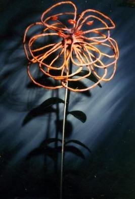Mythology Mixed Media Sculpture by Paul Fucci Title: Regurgatated Flower, created in 1992