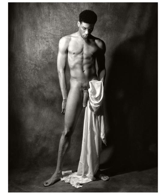 Naked fine art male
