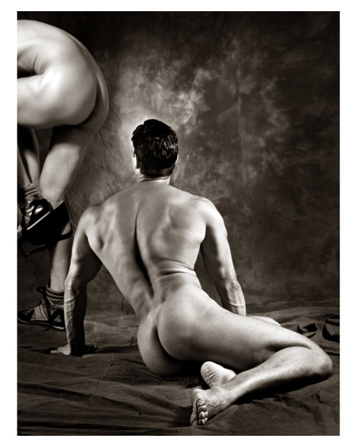 Hans Fahrmeyer  'The Male Nude7', created in 2017, Original Photography Silver Gelatin.