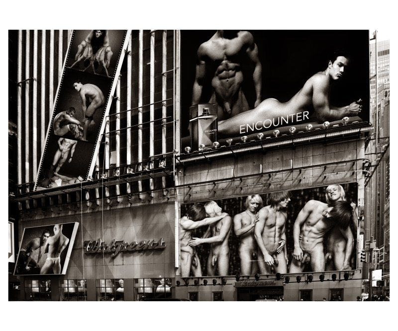 Hans Fahrmeyer: 'the male nude 6', 2017 Black and White Photograph, Nudes. Artist Description: men, nude, peniserotic. Male, collage...