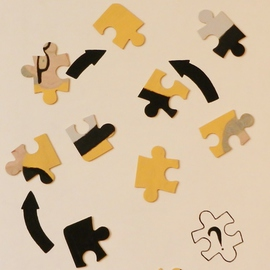 Selfportrait a puzzle