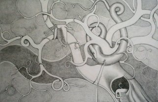 Orhan Atici Artwork The Failure, 2012 Pencil Drawing, Abstract