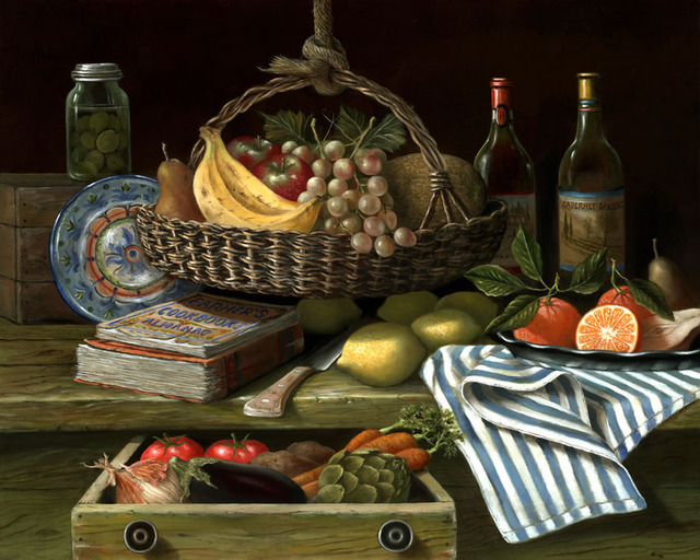Nicolo Sturiano  'Farm Fresh', created in 2018, Original Giclee Reproduction.