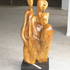 multi figural By Harold Gubnitsky