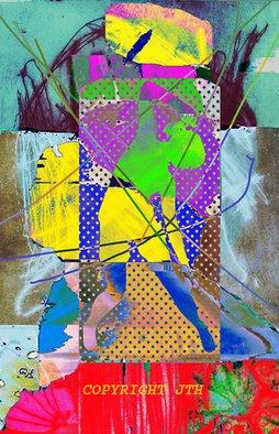 John Haworth Artwork Megalith Dancer, 2009 Digital Art, Abstract Figurative
