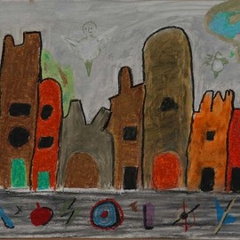 A Childish View of Downtown  By Harris Gulko