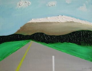 Harris Gulko: 'Road to Where', 2008 Oil Painting, Travel. One always knows where our road begins aEUR