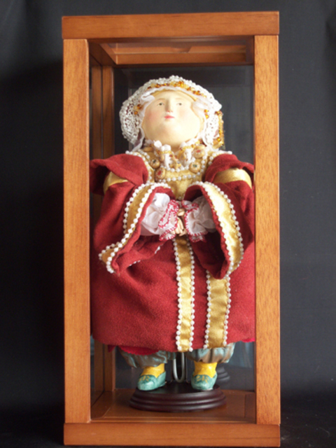 Heather Hyatt  'Anne Of Cleves  4th Wife Of Henry The  VIII', created in 2009, Original Other.