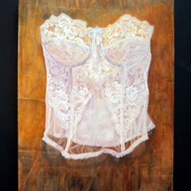 White Bustier By Heather Hyatt