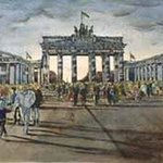 Brandenburger Tor  Gate of Brandenburg By Heinz Sterzenbach