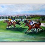 Horse race By Helena Khoury Nassif
