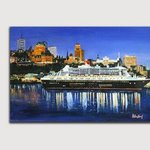 Queen Mary Boat in Quebec By Helena Khoury Nassif