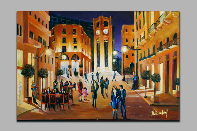 Helena Khoury Nassif  'The Star Place', created in 2006, Original Painting Acrylic.