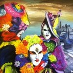 Carnival in Venice By Helen Bellart