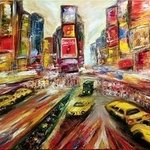 New York Broadway By Helen Bellart