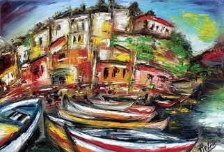 Artist: Helen Duchonova - Title: Sicily - Medium: Oil Painting - Year: 2012