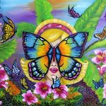 butterfly By Helen Bellart