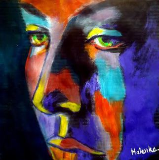 Helena Wierzbicki Artwork Face of silence, 2015 Face of silence, Abstract Figurative