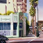 Gale Cafe on Wilshire Blvd bu Mary Helmeich By Mary Helmreich