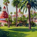 Hotel Del Coronado by Mary Helmreich By Mary Helmreich