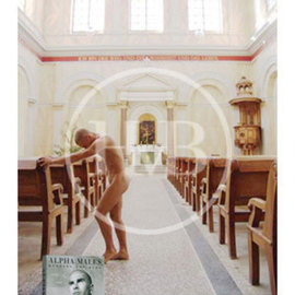 Henning Von Berg: 'MEDITATION IV', 2006 Silver Gelatin Photograph, nudes. Artist Description:  Russian yoga teacher Maxim meditating in an historic  palace church in Northern Germany to show his deep devotion. ...