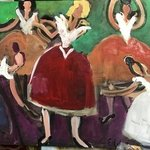 ballerinas By Paul Edelstein