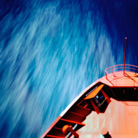 Herbert Boettcher: 'SEAMOTION', 2005 Color Photograph, Transportation. Artist Description:  Seamotion, Sea Motion, Herbert Boettcher, Container Vessel, Travel, Hamburg Sued, ...