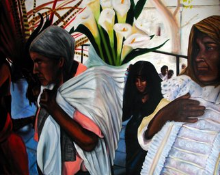 Artist: Monica Mackenzie - Title: Devotion to Mother earth - Medium: Acrylic Painting - Year: 2011