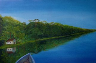 Artist: Monica Mackenzie - Title: Selva Latinoamerica - Medium: Acrylic Painting - Year: 2012