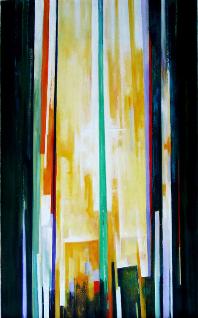 M. Thomas.: bamboo, 2014 Oil Painting