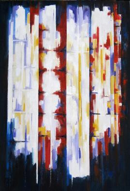 Artist: M. Thomas. - Title: buddha bamboo - Medium: Oil Painting - Year: 2007