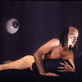 Matthew Hickey: 'Inbetween', 1998 Oil Painting, Figurative. Artist Description: none...