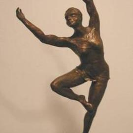 Bob Hill Artwork Joy of Spring, 2000 Bronze Sculpture, Dance
