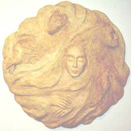 Bob Hill Artwork Swirling Dream, 2002 Other Sculpture, Life
