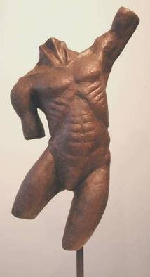 Bob Hill Artwork Triumph, 2001 Ceramic Sculpture, Figurative
