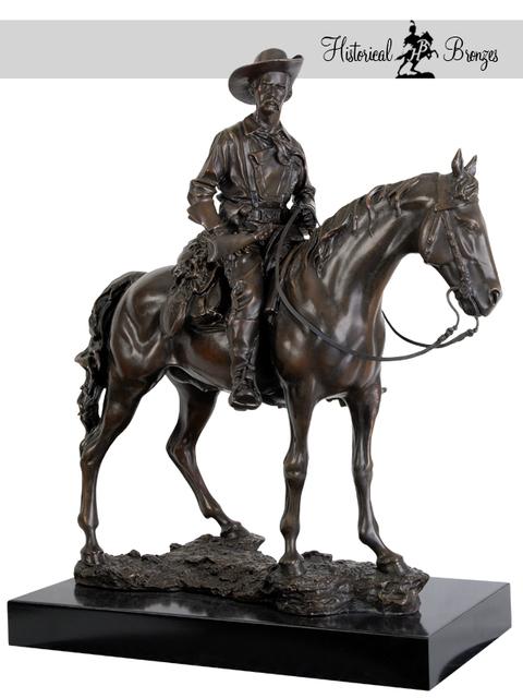Fernando Andrea, Bronze Sculpture General George Armstrong Custer
