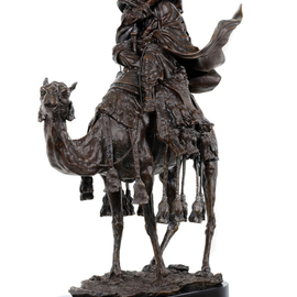 Fernando  Andrea: 'Bronze Sculpture Thomas Edward Lawrence ', 2013 Bronze Sculpture, History. Artist Description: