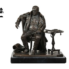 Fernando  Andrea: 'napoleon a fontainebleau s', 2018 Bronze Sculpture, History. Artist Description: BY FERNANDO ANDREASCALE 1: 10 BRONZE SCULPTURELIMITED EDITION  20 copies MARBLE BASE and CERTIFICATE OF AUTHENTICITY INCLUDED  Wax Stamp and signature of the sculptor HISTORYThe importance of Napoleon BonaparteA's role in European history is self- evident, and needs no further remarks. This famous and ...