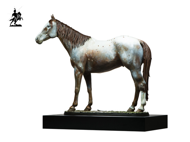 Artist Fernando  Andrea. 'Polychromed Bronze Sculpture' Artwork Image, Created in 2019, Original Sculpture Bronze. #art #artist